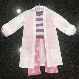 EUC Disney Store Doc McStuffins costume-size 9/10